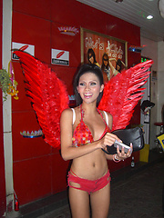 Candid pics of Ladyboy girlfriends and streetwalkers in Pattaya