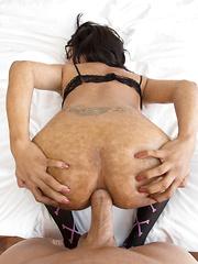 Bottomless Babe Bareback