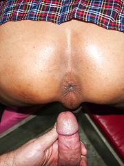 Big Cock Gape Cum and Creampie