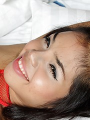 Young ladyboy sucking cock with big pleasure