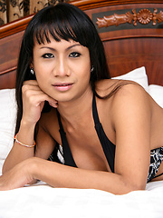 Um is a new girl at Stringfellows, Soi Yamato. Looks half Indian, half Thai, speaks great English. And has a good sized dick
