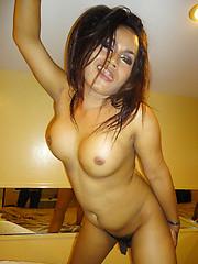 Drunk LB Aris shows her big butt