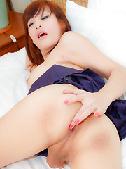 See ladyboy with small cock getting hammered