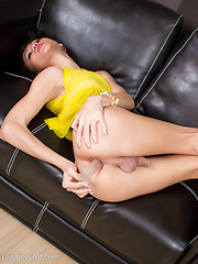 Nadia - Pastel Pantyhose