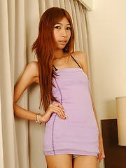 Ladyboy Mimi banged hard and fast