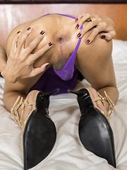 Purple Dress Tight Hot Sex